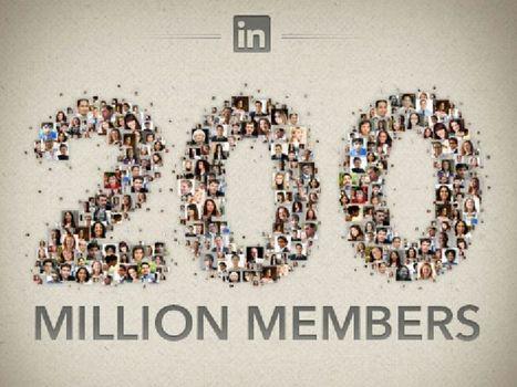 LinkedIn raggiunge i 200 milioni di utenti, ogni secondo ci sono due nuovi iscritti | Social Media Italy | Scoop.it