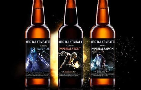 Finish Him! Officially Licensed MORTAL KOMBAT Beer For A Flawless Hangover | WTF Posts | Scoop.it