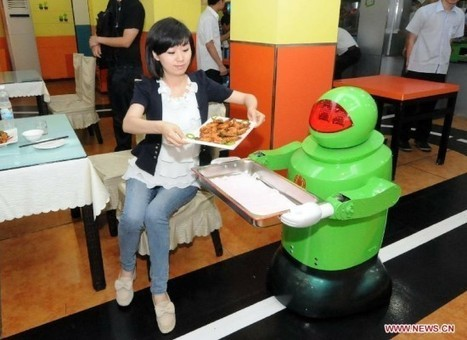 The Future Is Now – China Opens Robot-Operated Restaurant | Strange days indeed... | Scoop.it
