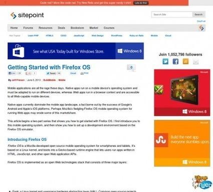 Débuter avec Firefox OS | Frontend dev | Scoop.it