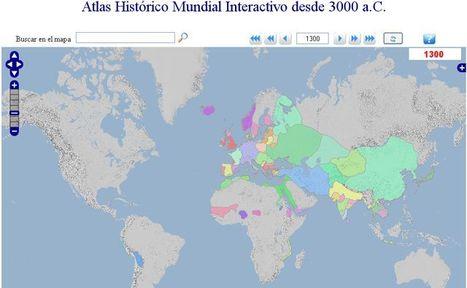 Geacron, Atlas histórico mundial interactivo con los cambios de fronteras desde el 3000 a.c. | aTICser | Scoop.it