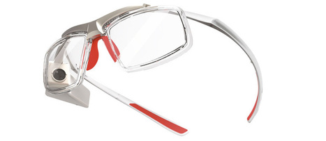 GlassUp Offers Augmented Reality Glasses That Look Familiar - Gadget Review | Augmented Reality News and Trends | Scoop.it