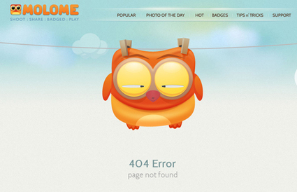 50 Funny & Creative Error 404 Pages | timms brand design | Scoop.it