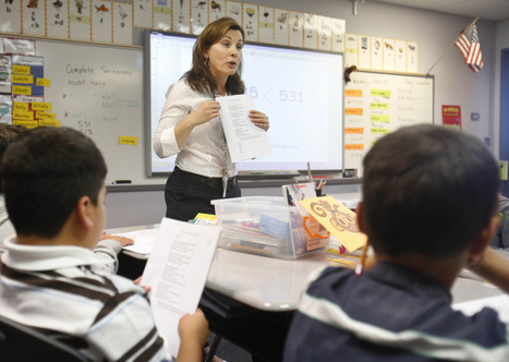 Report: California making strides with English learners | ¡CHISPA!  Dual Language Education | Scoop.it