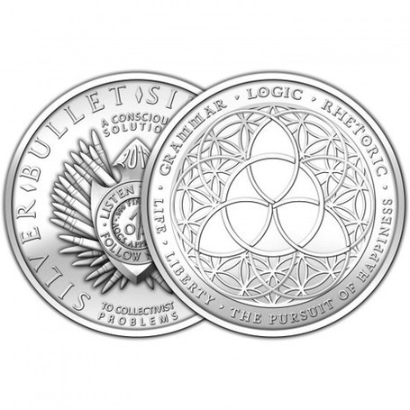 "#Silver 2012 1oz SBSS ""Trivium"" 