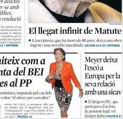 Es cobreix l'anècdota i s'oblida allò important en l'escàndol de la #Sicav del Parlament Europeu | Media.cat - Observatori crític dels mitjans | Mirada crítica | Scoop.it