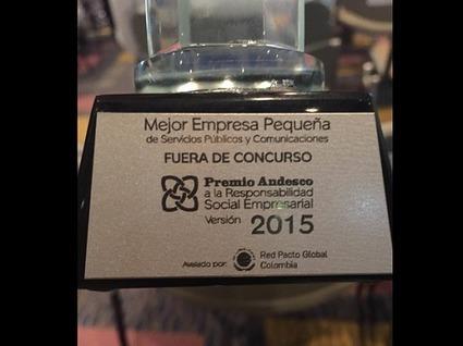 Premio Andesco a Empresas Públicas  de Fusagasugá. | Infraestructura Sostenible | Scoop.it