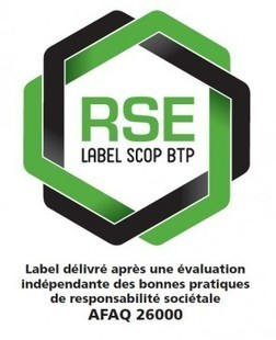 Quatre coopératives du BTP labellisées «RSE» - Vie de l'entreprise | Achats responsables | Scoop.it