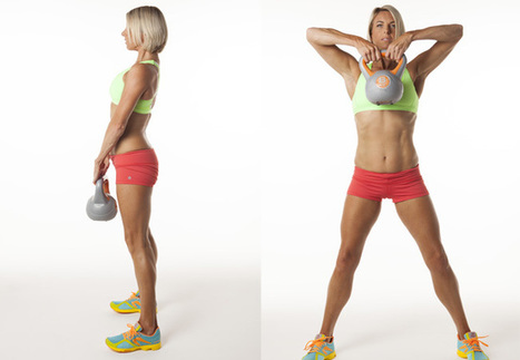 Kettlebell workouts - 12 of the best exercises for women - Women's Health & Fitness   Tetra Health   Scoop.it