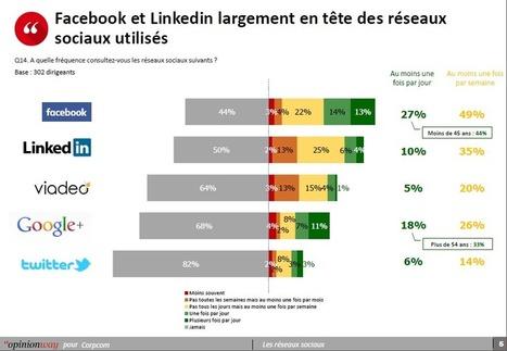 Réseaux sociaux : les patrons de PME utilisent plus Facebook que Linkedin ! | Webmarketing, Référencement & Réseaux Sociaux | Scoop.it