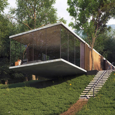 Photo-REALISTIC renderings : ImagineHouse by A.Masow Design Studio | The Architecture of the City | Scoop.it