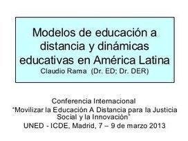 Modelos de educación a distancia y dinámicas educativas | Contenidos educativos digitales | Preparación de actividades dinámicas | Scoop.it