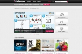 Indiegogo expands international presence | Business in a Social Media World | Scoop.it