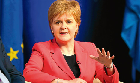 Sturgeon buoyed by 'baseline support' for independence - The Courier | My Scotland | Scoop.it