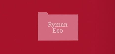 Ryman Eco : la première police d'écriture dédiée au développement durable | Sustain Our Earth | Scoop.it