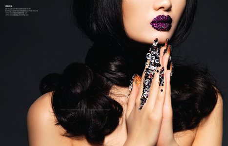 Rouge Magazine China : Dark Fantasy | beauty | Scoop.it