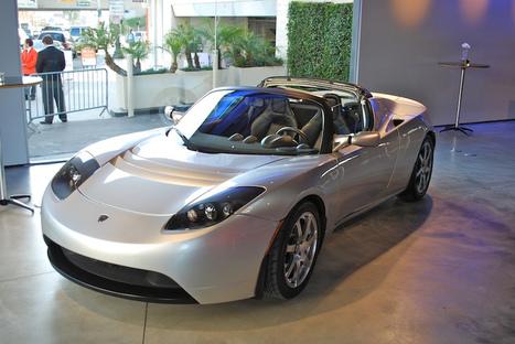Tesla Roadster - The All Electric Beast | FREBLOGG | Tech | Scoop.it