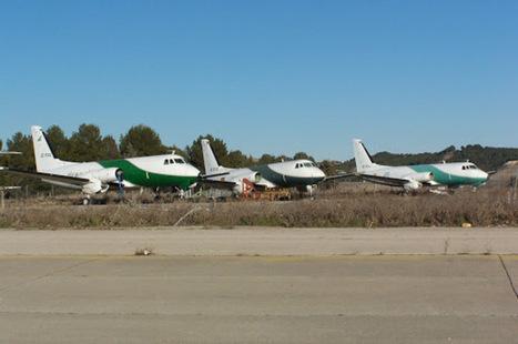 A subasta ocho aviones abandonados en Barajas - El Mundo | FLETAMENTO DE AVIONES Y VUELOS CHARTER | Scoop.it