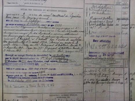 MesRacinesFamiliales: Eugène Préhau - Bataille de la Somme 1914-1915 (2ème partie) | Nos Racines | Scoop.it
