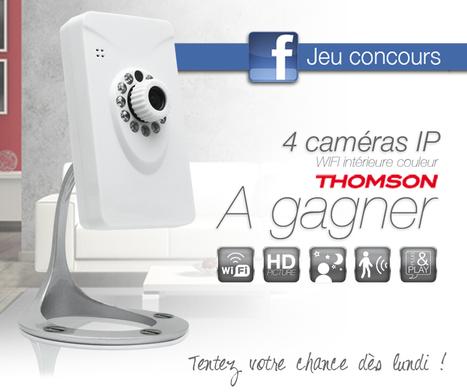 Caméra IP Wifi Thomson : garder un oeil sur ses proches | Le blog Avidsen | Hightech, domotique, robotique et objets connectés sur le Net | Scoop.it