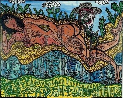 Robert Combas, le retour du démodé au Musée d'art contemporain de Lyon - La Croix | Le meilleur de vous | Scoop.it