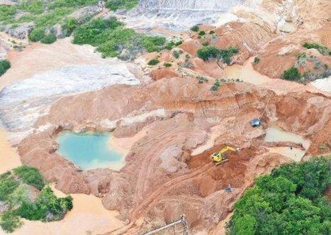 Los 'peros' de la nueva estrategia contra la minería ilegal   Infraestructura Sostenible   Scoop.it