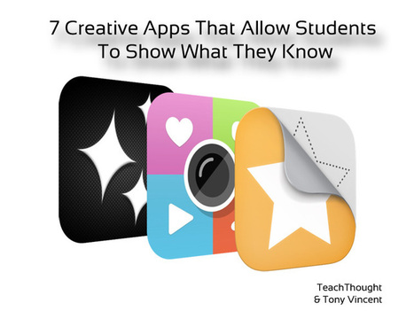 7 Creative Apps That Allow Students To Show What They Know | 1 to 1 IPads & 21st Century Pedagogy | Scoop.it