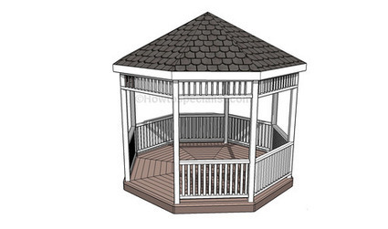 How to make a gazebo | Home Repair | Scoop.it