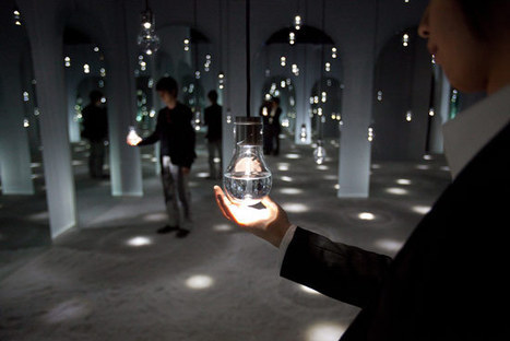 installation art : Toshiba's Overture LED Installation | VIM | Scoop.it
