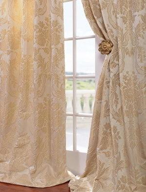 Faux Silk Jacquard Curtains | window curtains | Scoop.it