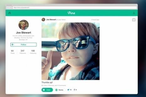 Twitter lança versão web do serviço de vídeos Vine | Tecnologia e Comunicação | Scoop.it
