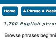 The Phrase Finder | ESL Reading and Vocabulary Resources | Scoop.it