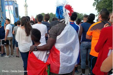 La finale vue de la Fan Zone | Bordeaux Gazette | Scoop.it