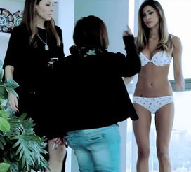 Belen Rodriguez hot e sexy in lingerie foto hot | IL SOLITO | Scoop.it