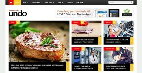 15+ Latest Flat WordPress Themes With Professional Design - Indexwp | WordPress Themes | Scoop.it