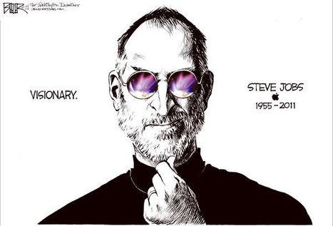 Homage to Steve: Nate Beeler / Washington Examiner | Visual*~*Revolution | Scoop.it