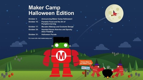 """Join Maker Camp for Fiendish Food and Pumpkin Carving! 