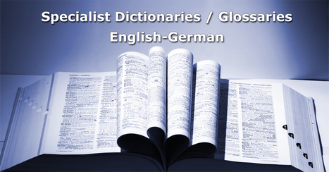 English-German medical dictionaries/glossaries (links) | Medical Translation | Scoop.it
