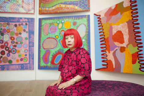 Preview #Yayoi #Kusama's New #Hypnotic #Installation. #art #colour #abstract | Luby Art | Scoop.it