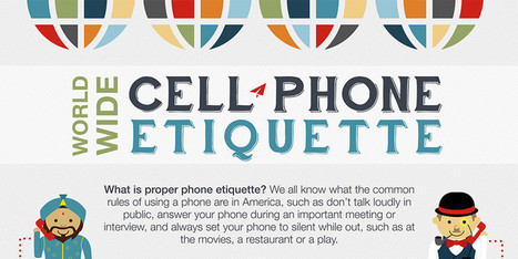 Phone Etiquette From Around The World | Ed Tech and Leadership | Scoop.it