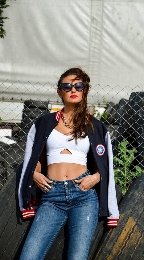 The Perfect Jacket! | Fashion Tag Blog | celebrities Leather Jackets | Scoop.it
