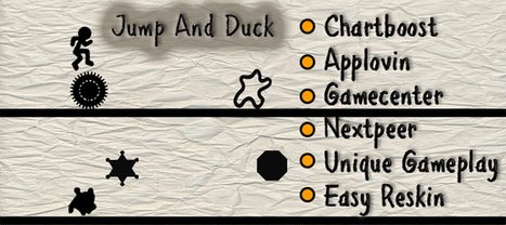Buy Jump & Duck Full Games For iOS | Chupamobile.com | Mobile App Development | Scoop.it