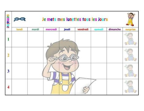 LES TABLEAUX DE MOTIVATION | Facebook | Autisme actu | Scoop.it