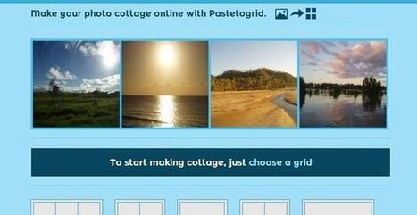 Pastetogrid, la forma más fácil y rápida de crear bonitos collages fotográficos | Varias herramientas digitales | Scoop.it