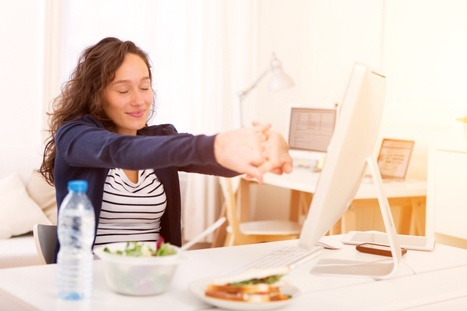 Lleva una vida saludable en el trabajo - City Extra | Apasionadas por la salud y lo natural | Scoop.it