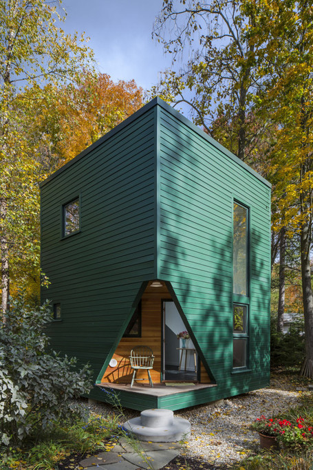 Delightful Writer's Studio and Guest House in Lakeside, Michigan | Idées d'Architecture | Scoop.it