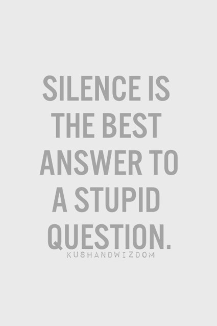 Silence is gold | Inspirations | Scoop.it