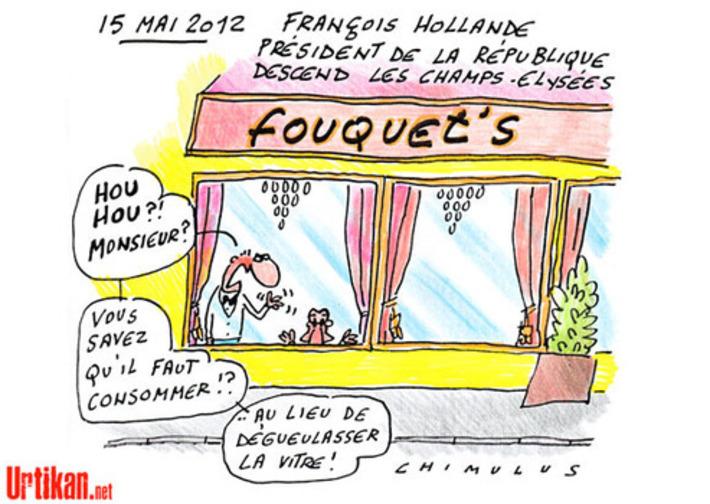 Passation des pouvoirs : Hollande veut de la sobriété | Baie d'humour | Scoop.it