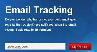 Traquer les emails envoyés à l'aide du service GetNotify | netnavig | Scoop.it