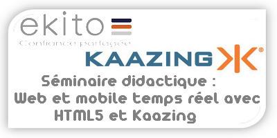 Séminaire didactique : « Web et mobile temps réel avec HTML5 et Kaazing | La Cantine Toulouse | Scoop.it